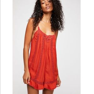 Free People Florence Romper